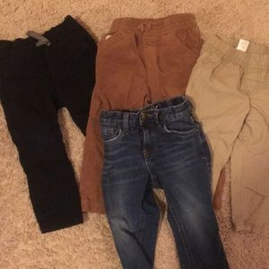 Other - Lot of 4 pairs of toddler 4T pants GUC